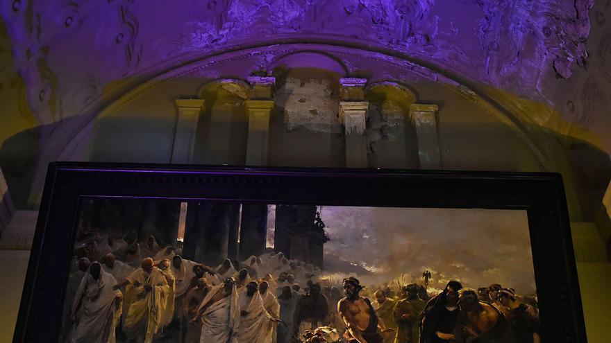 Preocupación por el estado de una de las joyas pictóricas de la Catedral de Málaga