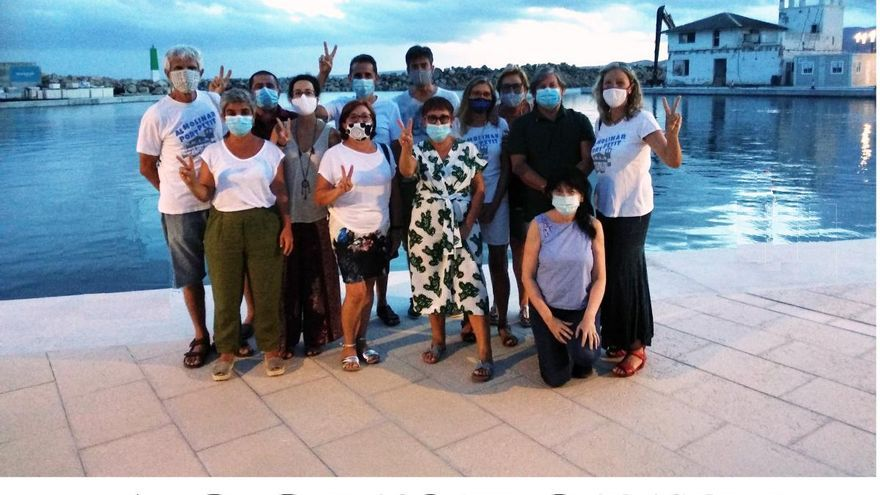 Al Molinar, Port Petit refleja en un vídeo sus siete años de movilizaciones