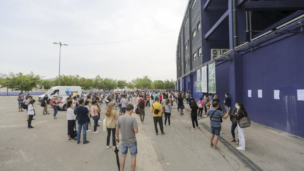 Sorprendente examen de oposiciones en el Ciutat