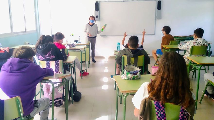 Conciencia medioambiental en las aulas de La Palma