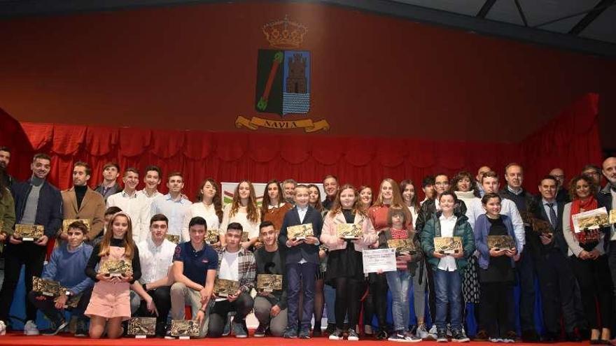 La Federación Asturiana celebra su gala en Navia