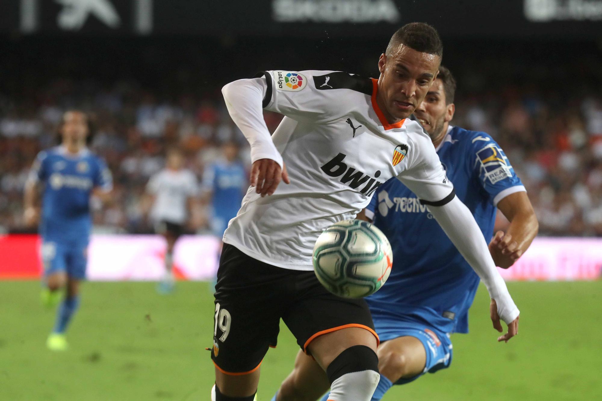 Los enfrentamientos Valencia CF - Getafe con Bordalás en el banquillo madrileño