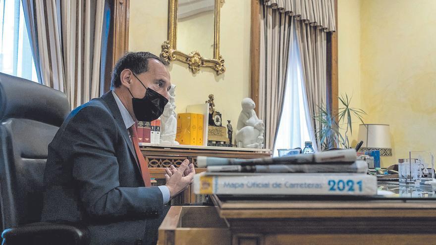 """Ángel Blanco: """"El propósito es poder empezar la autovía a Alcañices antes de que finalice 2021"""""""