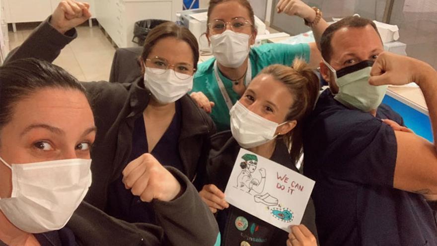 """Un año de pandemia: """"No somos héroes, los héroes son los pacientes y sus familiares"""""""