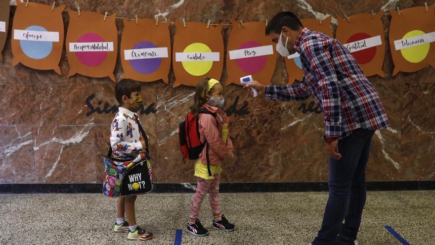 GALERÍA   La vuelta al cole en Zamora en el año del coronavirus, en imágenes