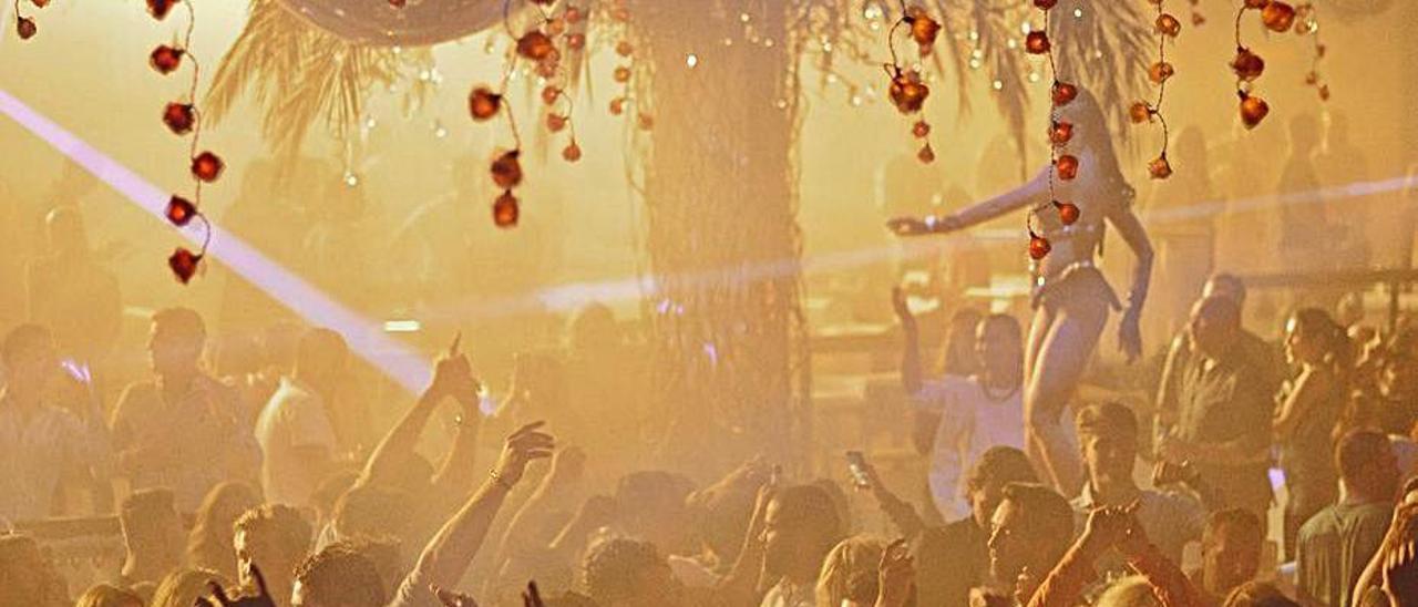 Imagen de archivo de una discoteca antes del virus.