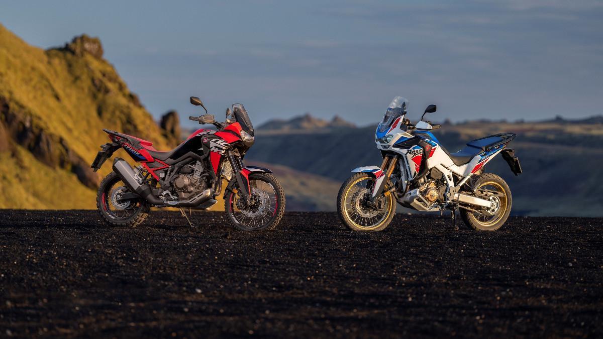 Así son las nuevas Honda Africa Twin y Africa Twin Adventure Sports 2022
