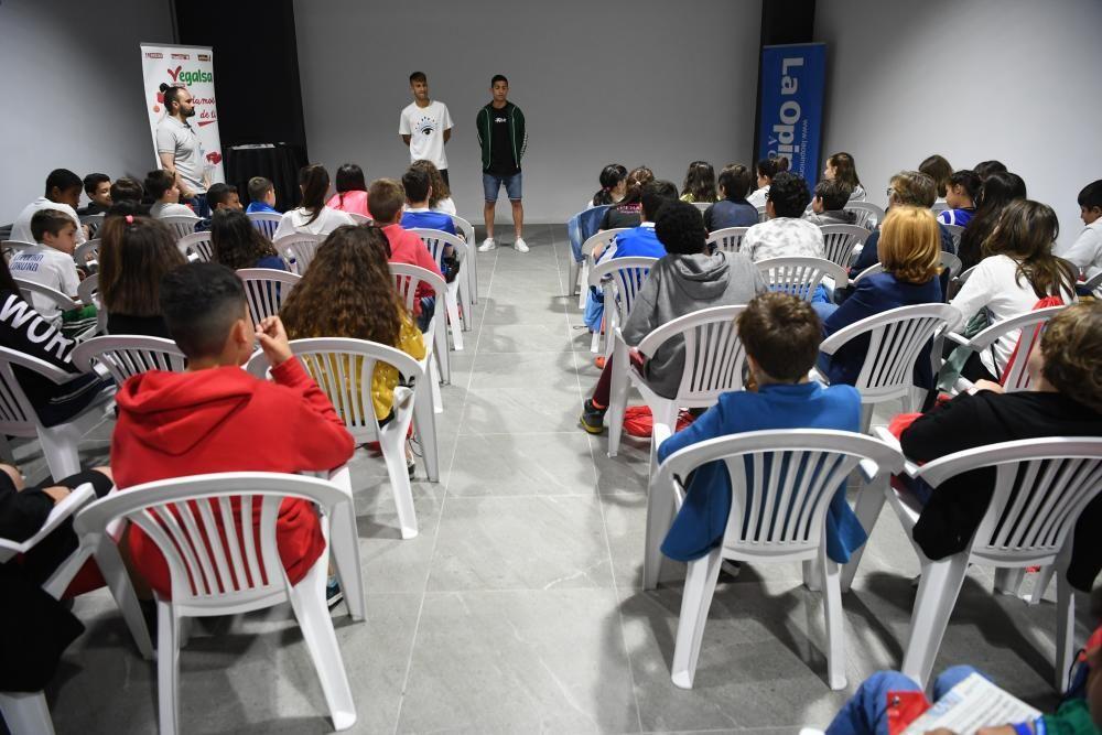 El CEIP María Barbeito, en Valores Branquiazuis