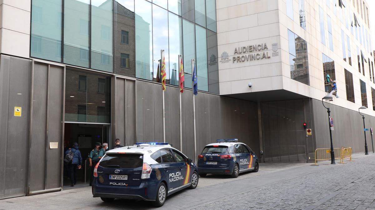 Audiencia de Zaragoza, donde fue el juicio.