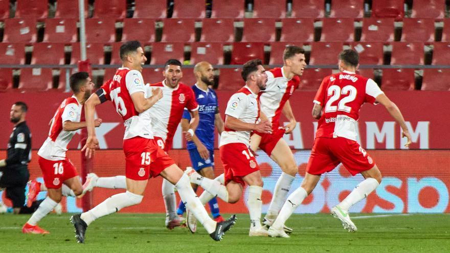 Leganés, Almería y Girona certifican su presencia en el 'playoff' y el Castellón desciende