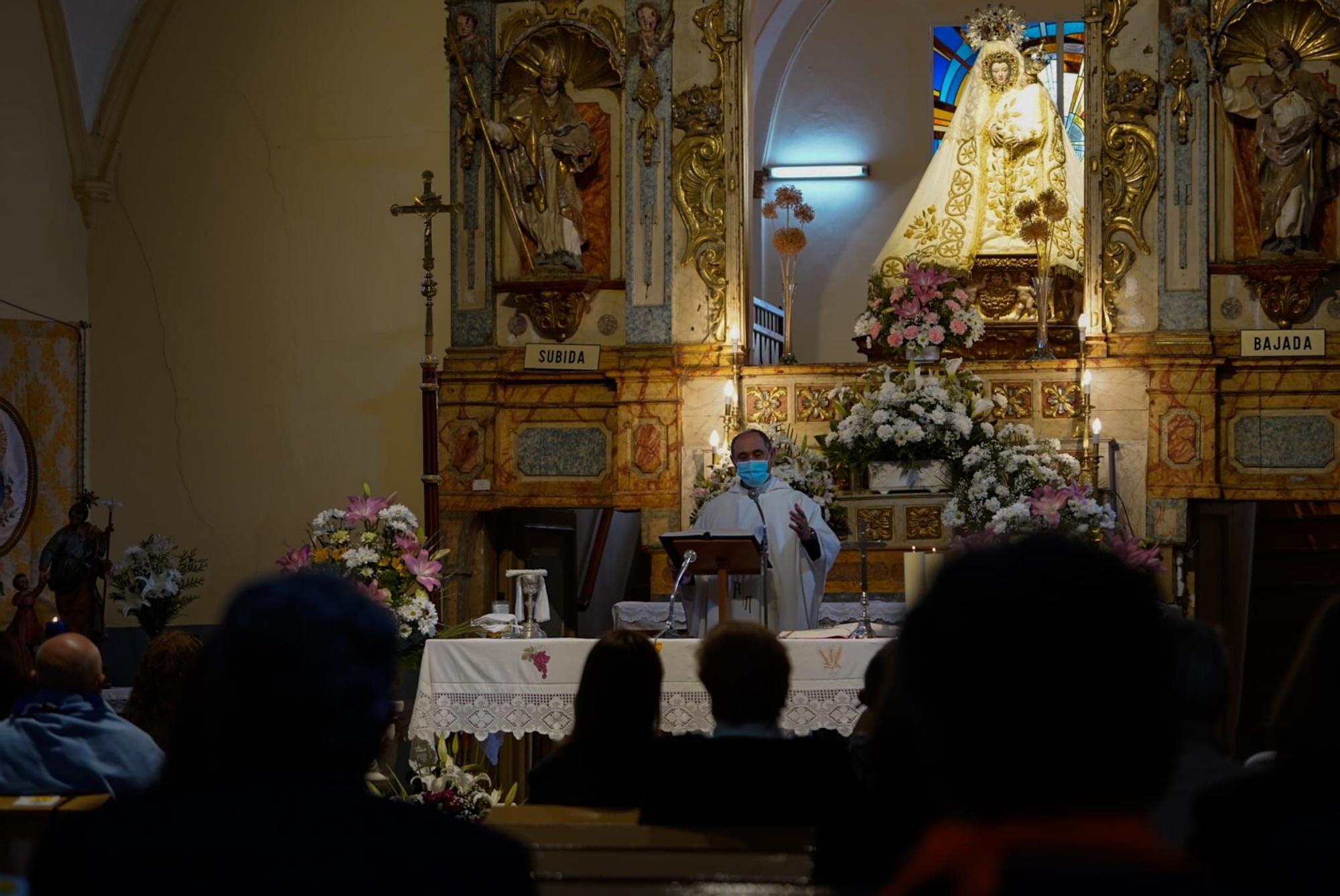 GALERÍA   Misa en honor a la Virgen del Viso, patrona de la Tierra del Vino