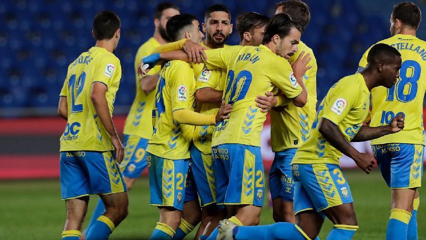 La UD Las Palmas remonta al Gijón en un gran segundo tiempo (3-2)