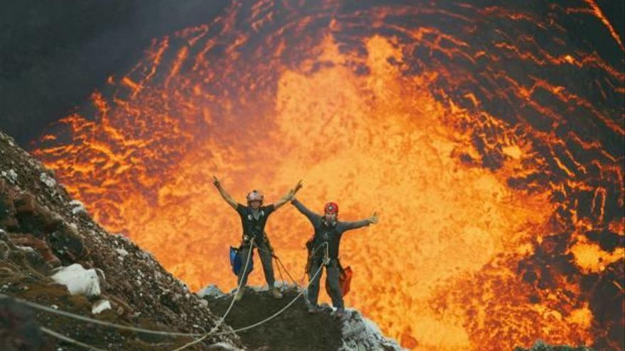 El Hemisfèric estrena «Volcanes»