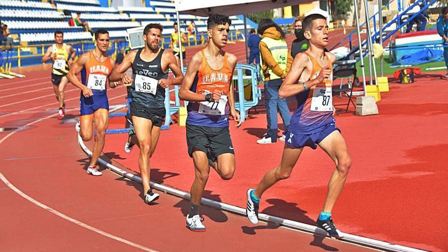 Marcas discretas en la doble jornada de pista de la Ciudad Deportiva Gran Canaria