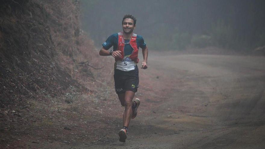 Alejandro Forcades finaliza segundo en el Nacional de trail running