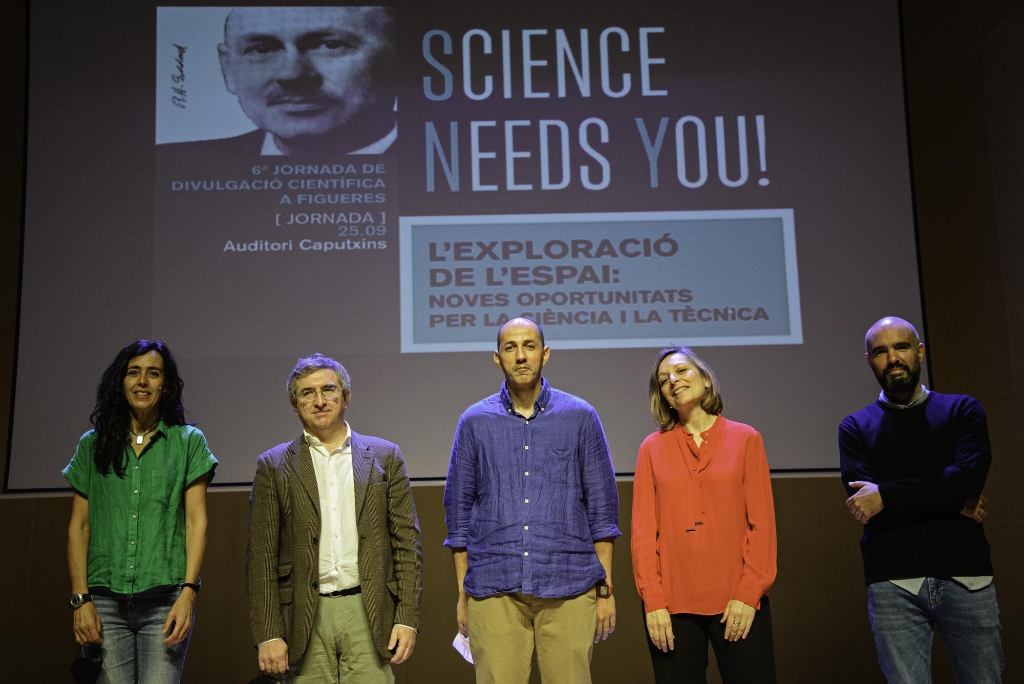 Acte central de la sisena edició del Science Needs You!
