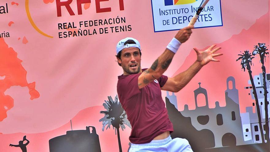 Alessandro Bega, favorito número uno del cuadro, no falla en el ITF Gran Canaria