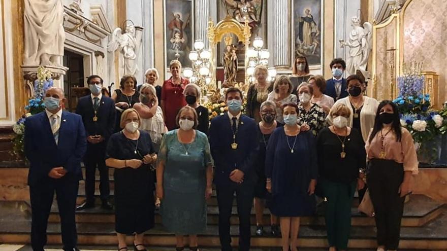 La Baixà abre las fiestas de la Patrona de Burjassot