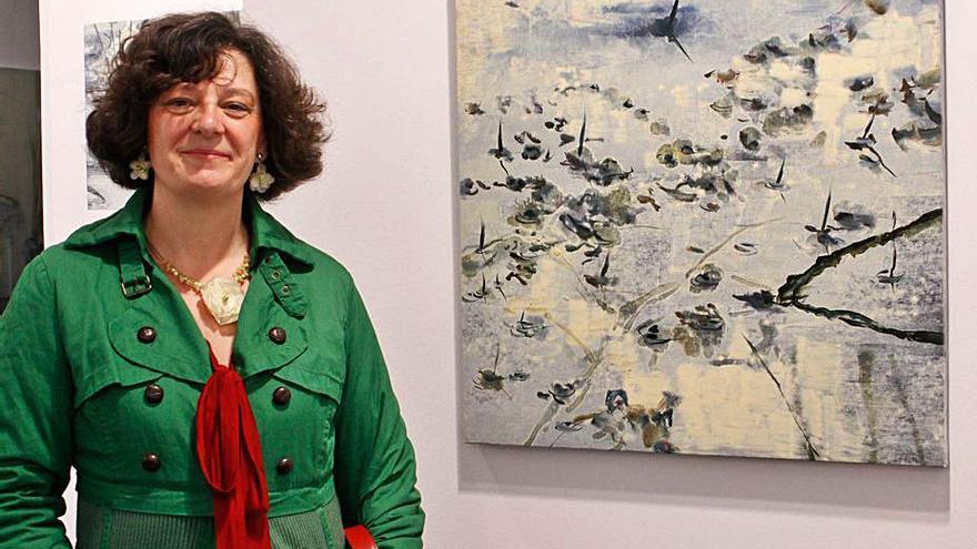 Ana Zaragozá, preseleccionada en la última edición del BMW de Pintura