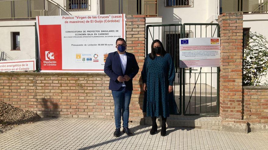 La Diputación invierte en El Guijo 327.075 euros