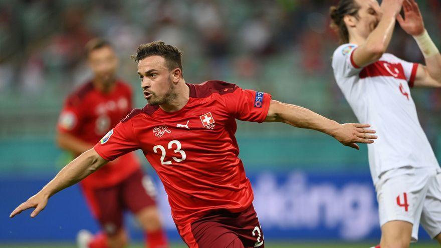 Eurocopa 2021   Shaqiri acerca a Suiza a octavos y hunde a Turquía