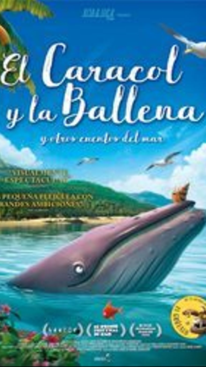 El caracol y la ballena, y otros cuentos del mar