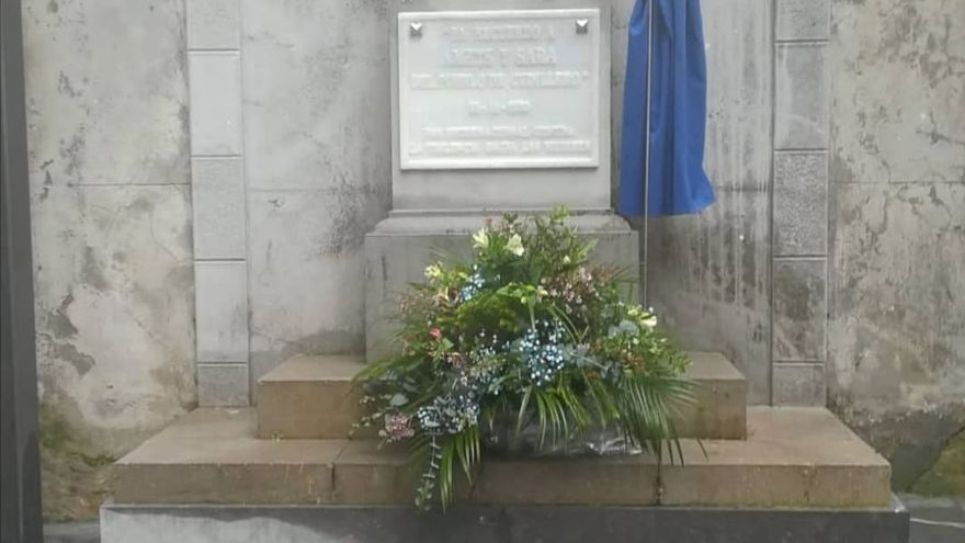 Sentido homenaje en Cudillero a Amets y Sara, las niñas asesinadas por su padre hace 6 años