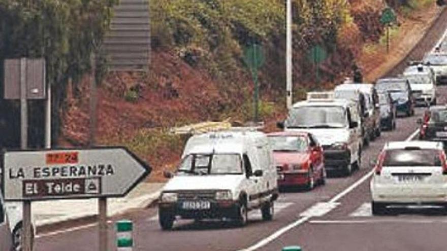 Carreteras adjudica  la obra del ramal de La Esperanza con la TF-5  por 8 millones