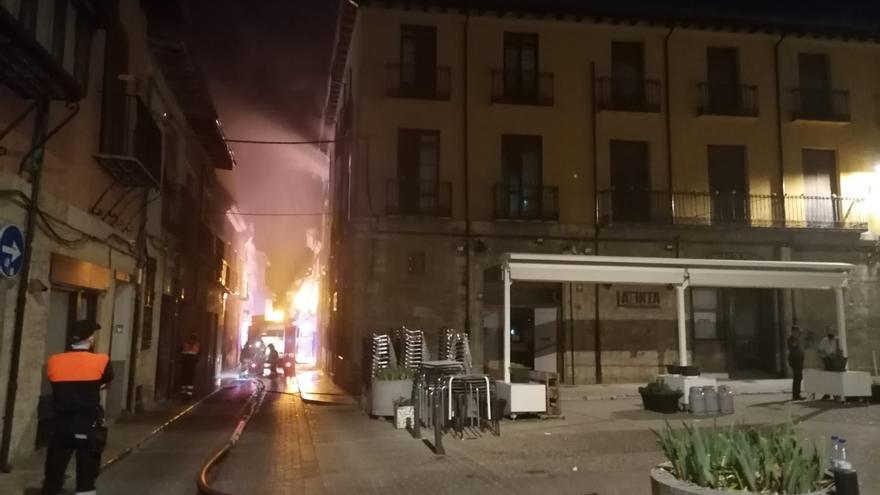 Extinguido un incendio en el Casino de Toro