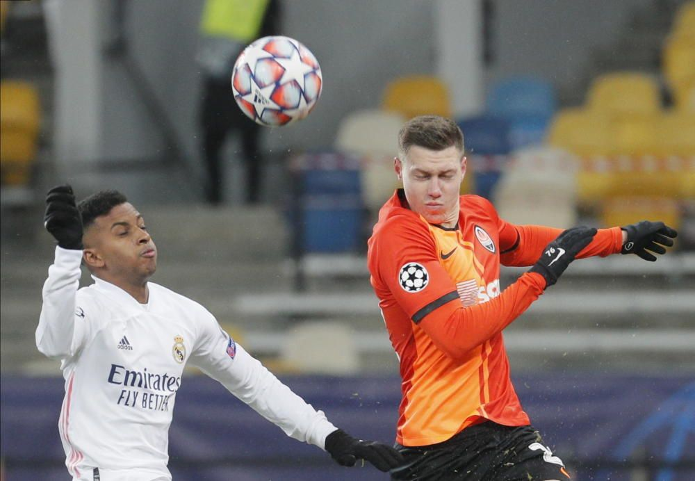 Champions League: Shakhtar Donetsk - Real Madrid.
