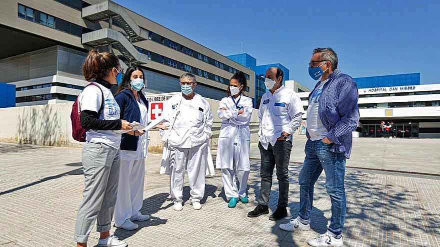 Críticas sindicales a la gerente del Hospital Can Misses de Ibiza por el plus covid