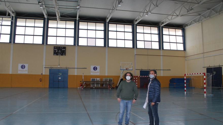 Benicàssim solucionará las goteras del pabellón con 165.000 euros