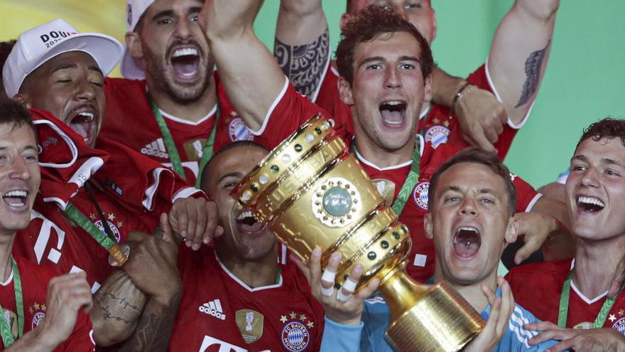 El Bayern levanta la Copa y conquista el doblete