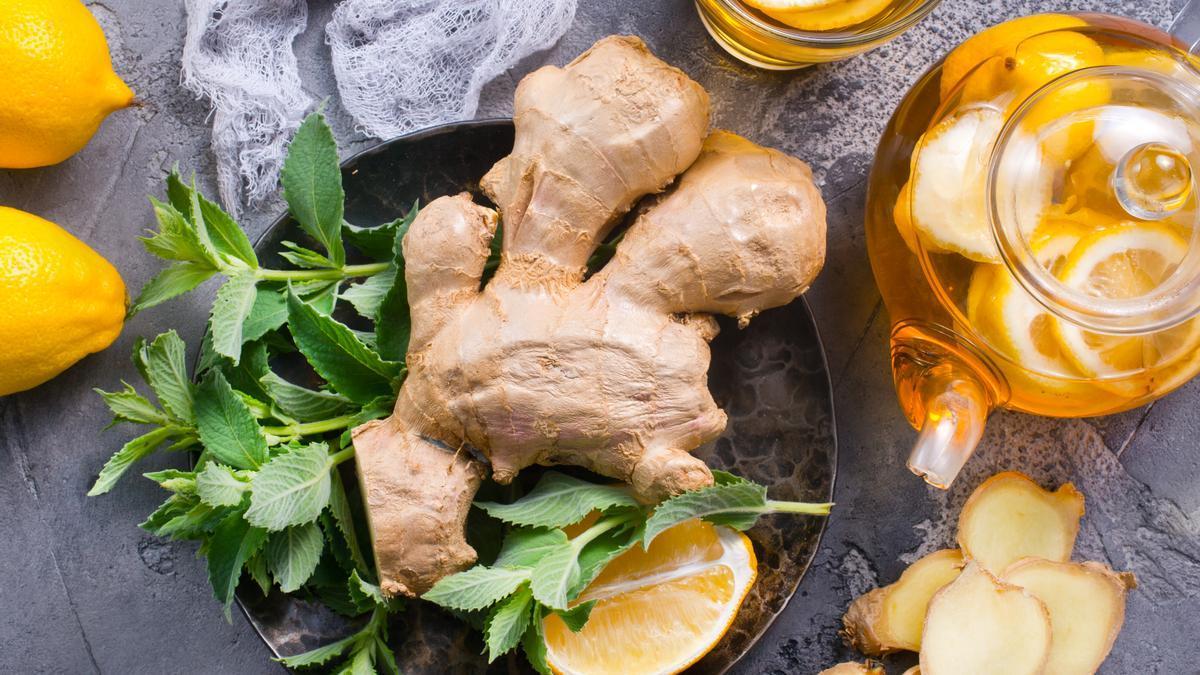 El jengibre: un alimento antiinflamatorio y perfecto para incluir a tu dieta y adelgazar