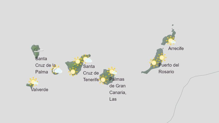Canarias espera vientos para este lunes