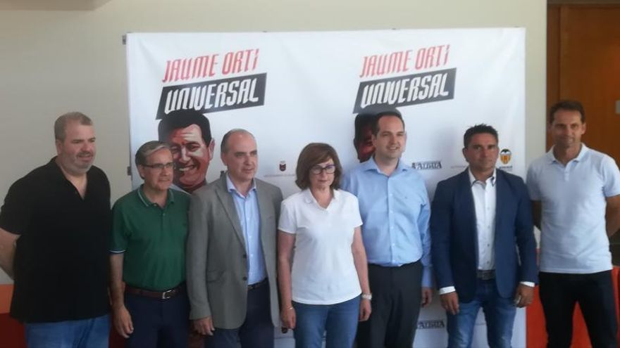 Aldaia prepara una homenaje para Jaume Ortí