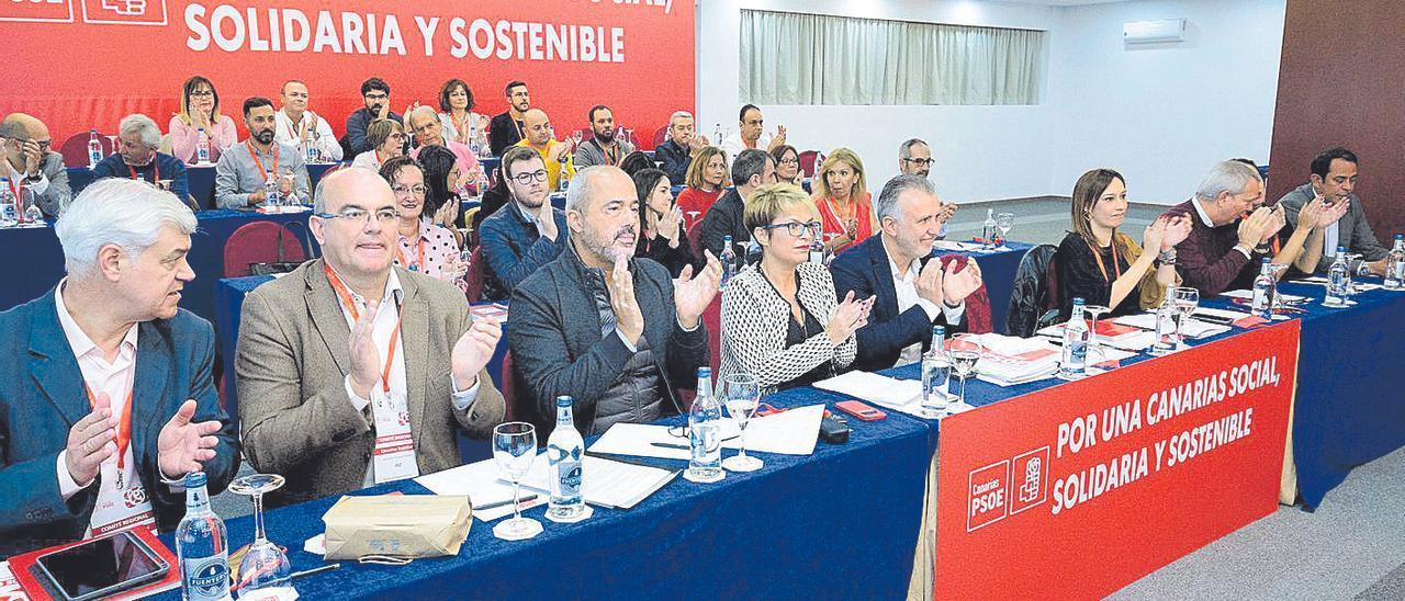 Imagen de un Comité Regional del PSOE celebrado poco antes del inicio de la pandemia