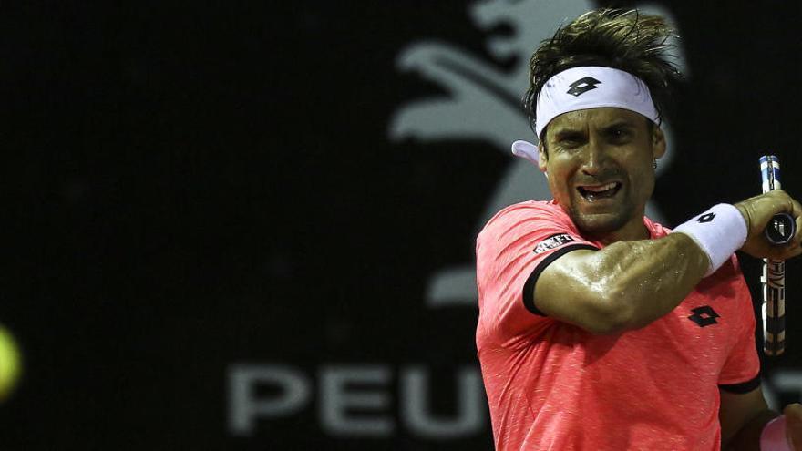 David Ferrer cae en su debut en Miami ante el argentino Diego Schwartzman