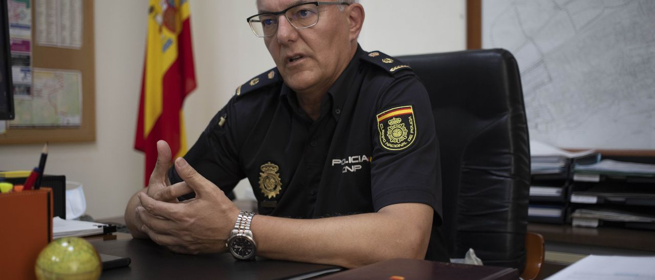 José Antonio Martínez, ayer, en su despacho.   PERALES IBORRA