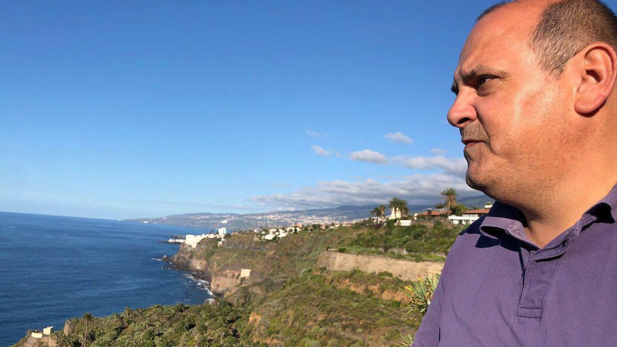 Teo Morales, portavoz de Podemos en Los Realejos