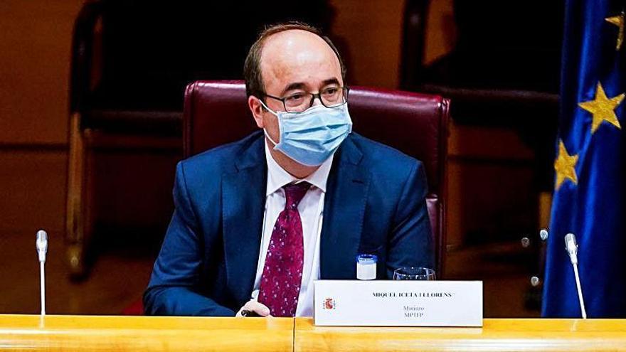 """Iceta alerta que si la taula de diàleg va d'autodeterminació i amnistia """"serà breu i no durà enlloc"""""""