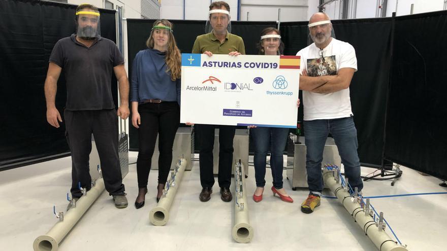 Asturias prepara el primer envío a Latinoamérica de prototipos de respirador