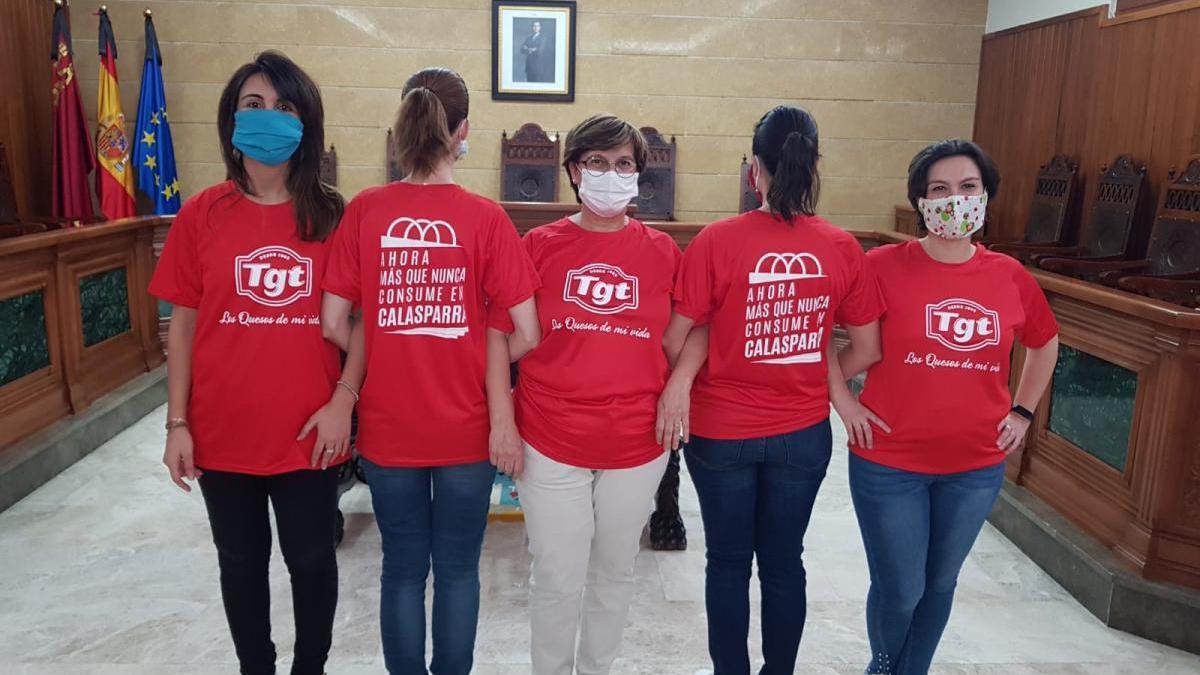 La empresa TGT apoya el consumo en Calasparra