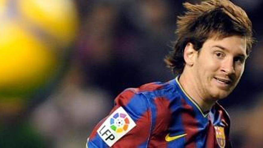 Messi no tiene quien le pague, otra víctima
