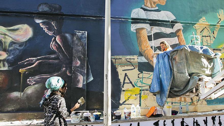 El V Encuentro PaRedes ompli d'art el Grau