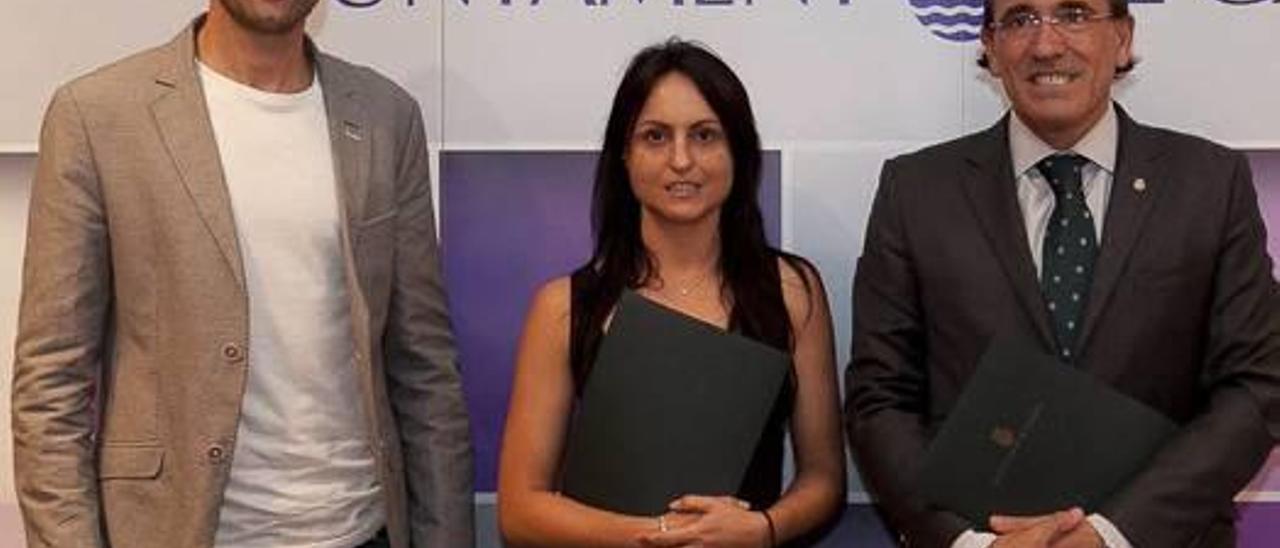 El ayuntamiento firma un convenio con el Club Hípico Gandia-Centro Las Estrellas
