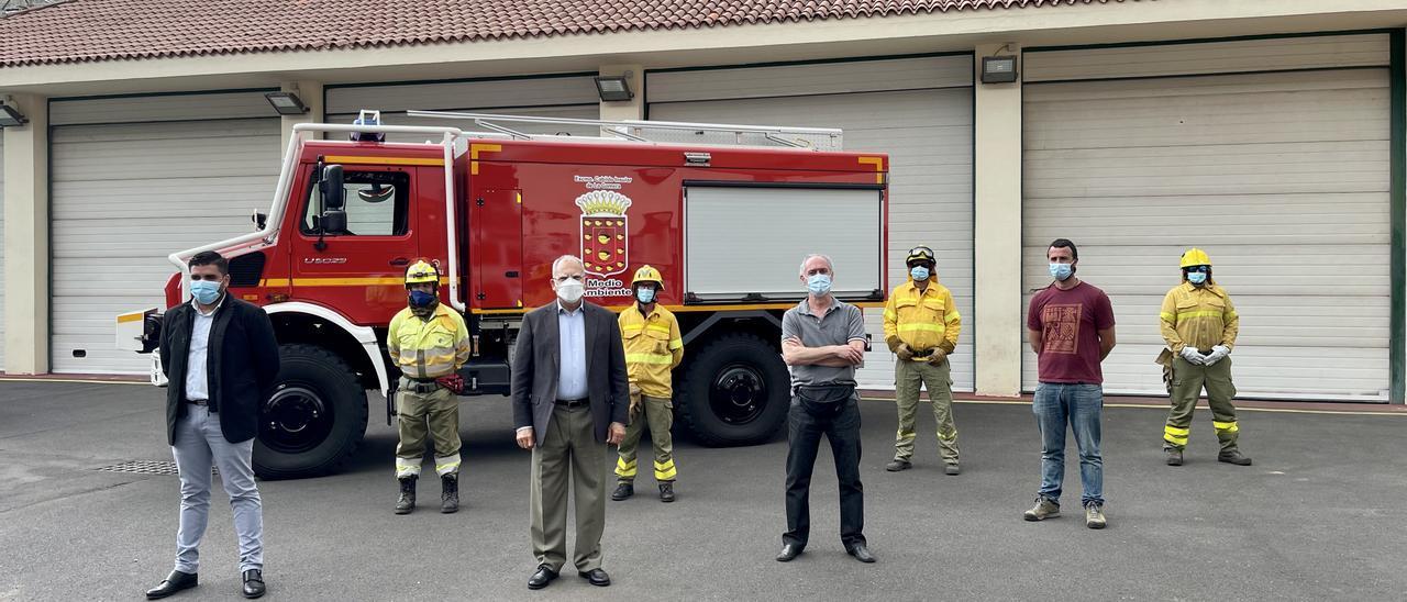 El Cabildo de La Gomera incorpora un vehículo autobomba para la lucha contra incendios
