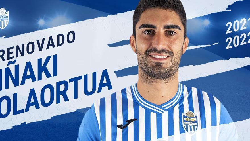 El Atlético Baleares anuncia las renovaciones de Olaortua y Manel Martínez
