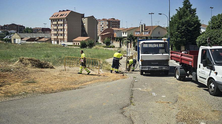 """La expropiación forzosa de la calle Zafra en el """"Tejar II"""" de Benavente fue ajustada a derecho"""