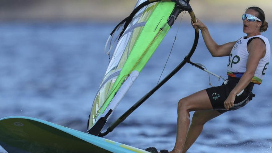 Marina Alabau finaliza quinta en la 'Medal Race'